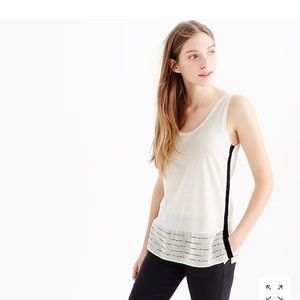 Jcrew Embellished tank top- Brand new